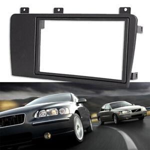 for Volvo XC70 V70 S60 2004-2007 Car 2 Din Stereo Radio Fascia Panel Plate O9X2
