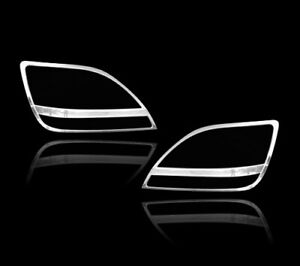 Chrome Headlights Trim Bezel Cover Surround Rim For Lexus RX300 99-04