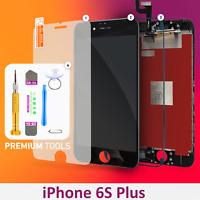 Display LCD für iPhone 6S PLUS RETINA Glas Bildschirm Scheibe 3D Touch SCHWARZ