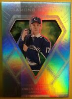 "2018-19 UD Black Diamond ""Diamond Cutters"" Rookie #DC-EP Elias Pettersson SP RC"