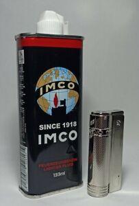 IMCO Benzin + Angel Benzinfeuerzeug Austria3. Premium DeluxeSoftflamme Outdoor