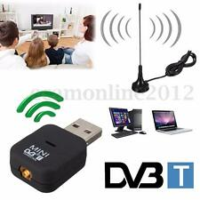 Mini USB DVB-T Digital TV Receiver Tuner Dongle MPEG-2 MPEG-4 OSD For Laptop PC