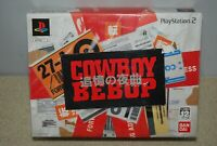 PS2 COWBOY BEBOP Tsuioku no Serenade Limited Edition Japan Import NTSC-J sealed