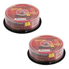 50 AONE stampabile a getto d'inchiostro a doppio strato 8.5GB (8x) Gold Edition DVD + R DL