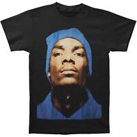 Official Snoop Dogg - Beanie Profile - Men's Black T-Shirt US IMPORT