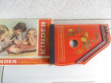 Zither Kinderzither Musima Markneukirchen DDR 1970 er  OVP Zither Zupfinstrument