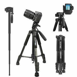 ZOMEi Q222 Pro Aluminium Tripod Smartphone Pan Head For DSLR Camera Video