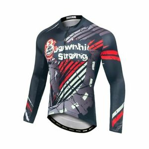 Cycling Jersey Pro Team Long Sleeve Mens Ciclismo Bike Bicycle Clothes Clothing