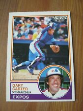 1983 OPC O Pee Chee #370 Gary Carter - Montreal Expos Hall of Fame catcher    QQ