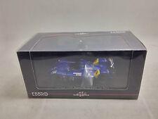 Rare 1:43 Ebbro Car Model Courage LC70 Mugen No.12 2006 Le Mans Dark Blue 824