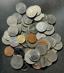 Old Thailand Coin Lot - 60+ Excellent Coins - Mixed Types - Lot #L22
