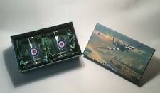 RAF Royal Air Force Whisky Glasses 70th D-Day Christmas Gift Ideas for Him