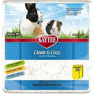 Kaytee Clean & Cozy Super Absorbent Paper Bedding for Cages, Hamster, Gerbil,