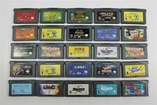 Lot of 25 Game Boy Advance Games - Monsters INC, Spy Hunter, Treasure Planet