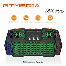GT Mini Backlight i8X Plus Wireless 2.4G Keyboard Remote Control for Smart TV PC