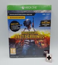 Pack PlayerUnknow's Battlegrounds + Notebook / Sticker  Xbox One Edition FR NEUF
