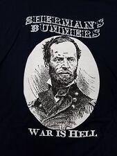 "Sherman's ""War is Hell Victory Tour"" T-shirt - Civil War - NEW - Size XXL"
