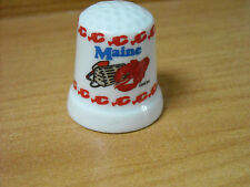 MAINE (US STATE ) / LOBSTER THIMBLE