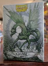 Dragon Shield Gaial Matte Art Sleeves 100 Count Factory Sealed