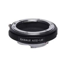 GABALE AI G-LM for Nikon G lens to Leica M M240 M9 M8 with TECHART LM-EA7II