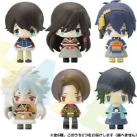 "6pcs/set Touken Ranbu Online Mikazuki Munechika 2"" Cute Figure Toy Decor"