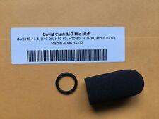 David Clark H10-13.4 Mic / Mike Muff Microphone Protector NEW