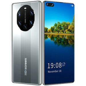2021 New cheap Mate 40 Rs+ Chinese smartphone 6.8 inch FaceID mobile phone