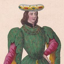 Portrait de Charles de Montaigu Vidame de Laon Seigneur de Marcoussis