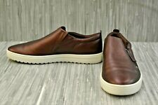 **ECCO Fara Slip-on Sneaker, Women's Size 9M, Fig Metallic