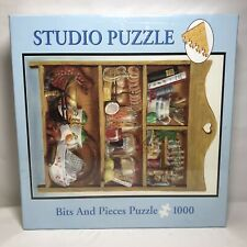 Studio Puzzle Bits and Pieces 1000 Piece Jigsaw Puzzle 20x27 Cooking Shelf 2005