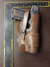 Colt Model 1903 32ACP 1908 .380ACP Brown Leather Field Holster Wild Bunch