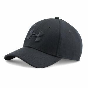 Under Armour UA 1254123 Mens Blitzing II Cap BASEBALL HAT M/L BLACK 005