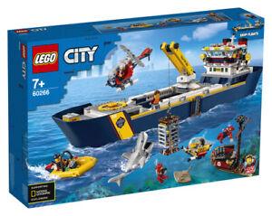 LEGO City Meeresforschungsschiff (60266) NEU/OVP