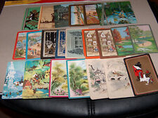 Playing cards -  Lot of 58 Vintage Single Swap Cards LANDSCAPE