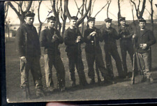 CHERBOURG FUSILIERS MARIN PHOTO CARTE