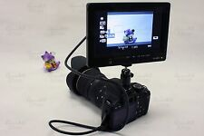 7 Inch Professional Photography HDMI DSLR LCD Monitor Kit Set - Canon 5D MKII 7D