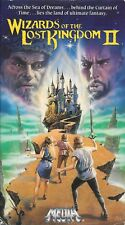 Wizards Of The Lost Kingdom II (VHS) Rare & OOP Original Media Home Video