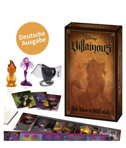 Disney Villainous - Board Game - GERMAN LANGUAGE VERSIONS - Free Delivery