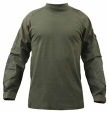 Rothco Military Combat Shirt Olive Drab Small - NEW