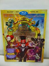 Alice Through the Looking Glass (Blu-Ray/DVD with slipcase New Factory Sealed
