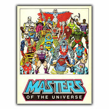 He-man Masters of the Universe Métal Signe Plaque 80 s Rétro Poster print Homme AAAA