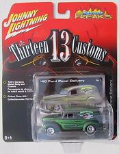 JOHNNY LIGHTNING STREET FREAKS THIRTEEN 13 CUSTOMS 1940 FORD PANEL DELIVERY #1