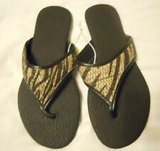 Black Flip Flop Shoes Size 6 Women Capelli