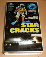VHS - Star Cracks - Cannon - 1987 Science Fiction Komödie 80er - Videokassette