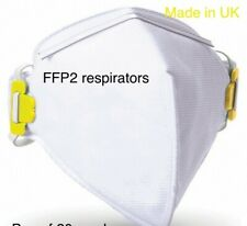 Respair Face Mask • x10 fold flat • FFP 2 / P2 Filteration• BRAND NEW.