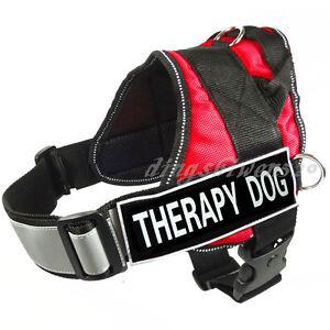 Reflective Service Dog Vest Harnesses Comfort Choose 2 patches 13 Colors 5 Sizes