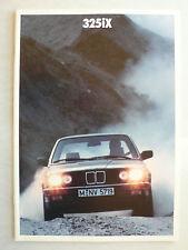 Prospekt BMW 3er E 30 - 325iX, 1.1987, 22 Seiten