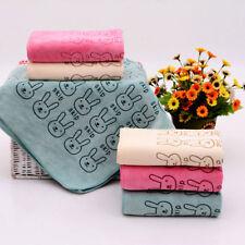Cute Rabbit Baby Bath Towel Washcloth Bathing Soft Home Infant Washcloth Nice