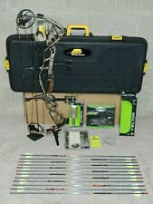 """LEFT Hand Hoyt Carbon Defiant 34 Bow Package- 60 to 70 lb - 29"""" to 31"""" DL"""