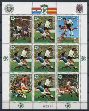 PARAGUAY 1981 Fußball WM Soccer Spanien 3433 Kleinbogen ** MNH